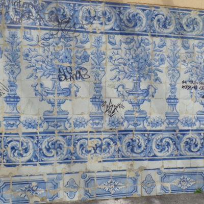 Azulejos Vandalizados Quinta Conventinho - Ana Almeida